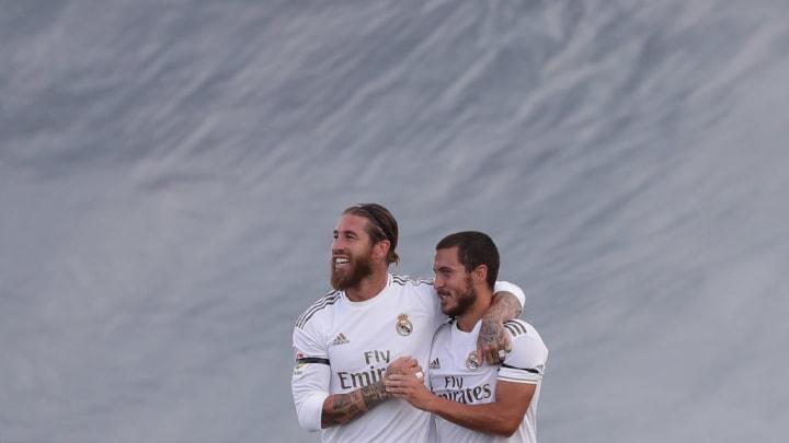 Sergio Ramos, Eden Hazard