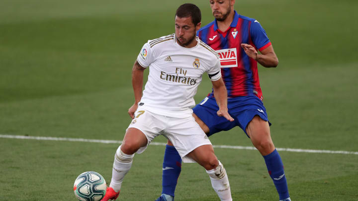 Eden Hazard stood out against Eibar.