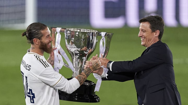 Real Madrid will be looking to defend their La Liga title this season.