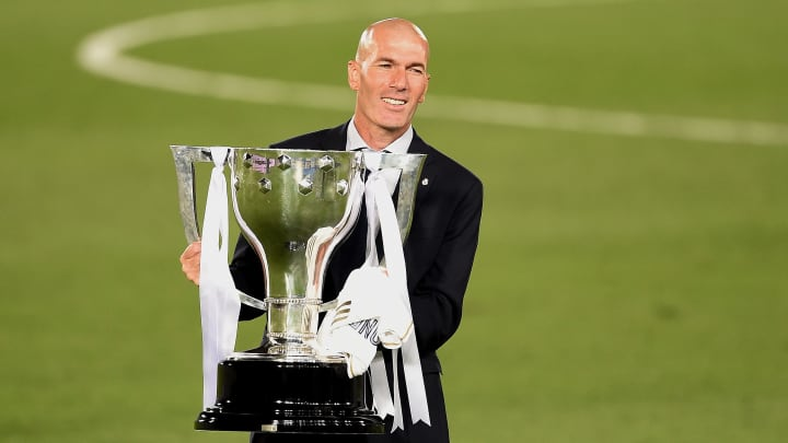 Zinedine Zidane will hope to continue Madrid's success by overcoming Man City