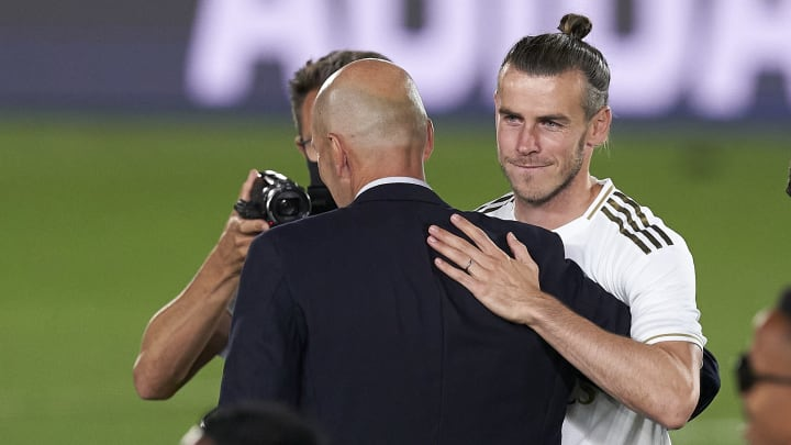Gareth Bale, Zinedine Zidane, Manager of Real Madrid