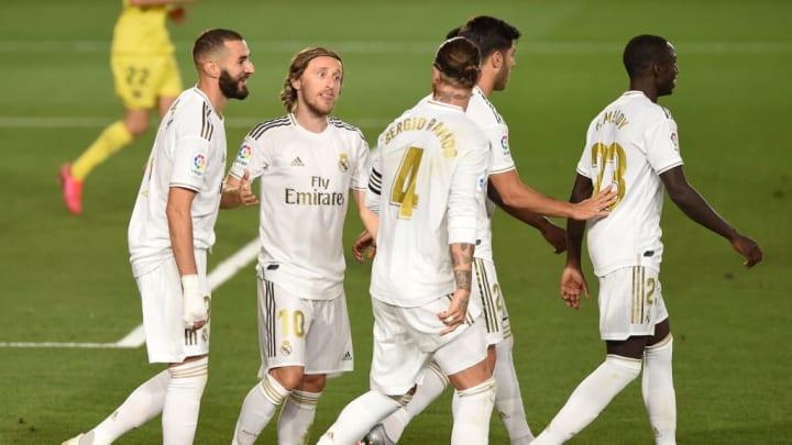 Karim Benzema, Luka Modric, Sergio Ramos