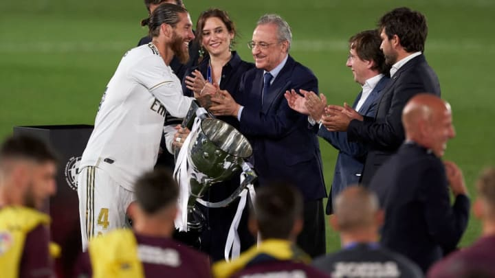 Real Madrid won La Liga after the COVID-19 break in March