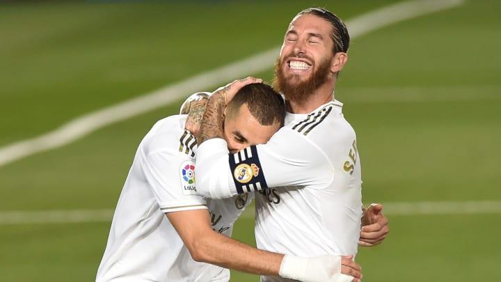 Karim Benzema, Sergio Ramos
