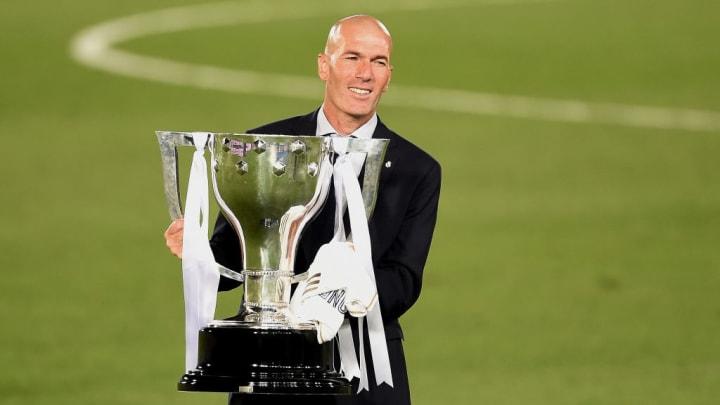 Zinédine Zidane en a déjà gagné des trophées avec le Real Madrid.