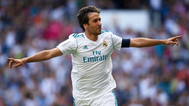 Raul Gonzalez Blanco Real Madrid LaLiga