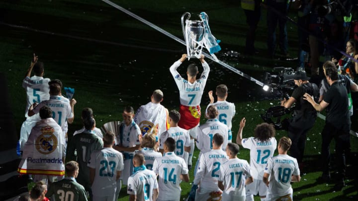 Cristiano Ronaldo Real Madrid Liverpool Semifinal Champions League