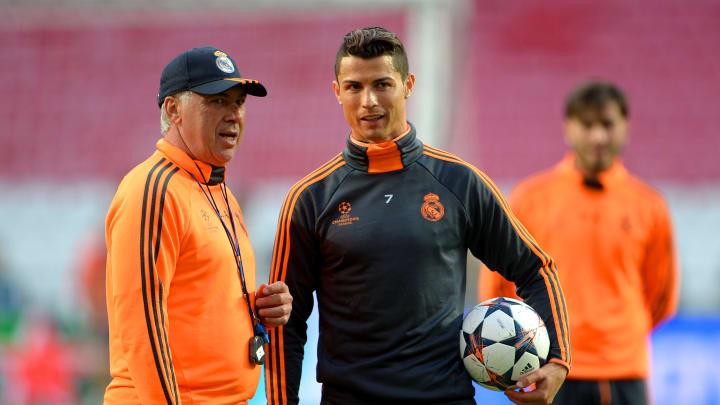 Carlo AncelottiCristiano Ronaldo