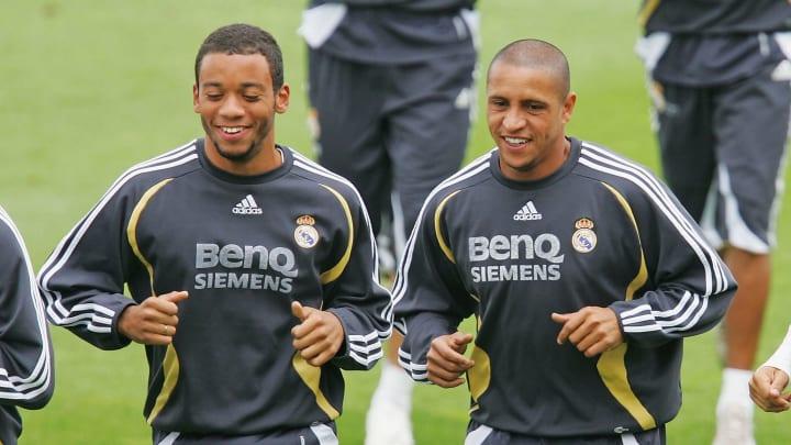 Marcelo, Roberto Carlos, Cicinho