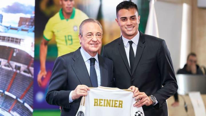 Florentino Perez, Reinier Jesus Carvalho