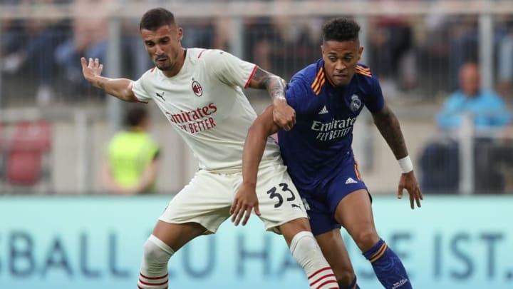 Rade Krunic, Mariano Diaz Real Madrid Milan Alavés LaLiga