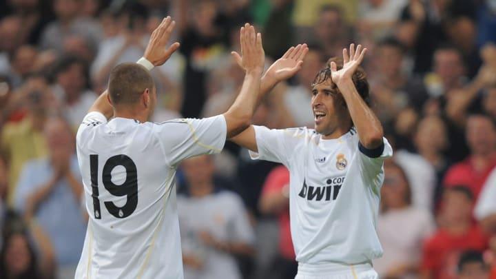 Benzema igualou marca história de Raúl González em Champions
