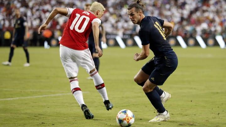 Gareth Bale, Mesut Oezil
