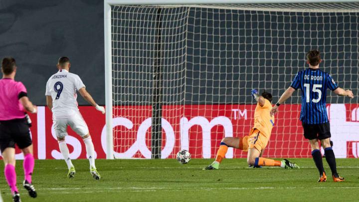 Karim Benzema, Marco Sportiello