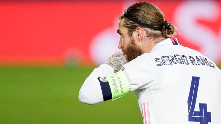 Sergio Ramos Real Madrid Barcelona Messi Champions League