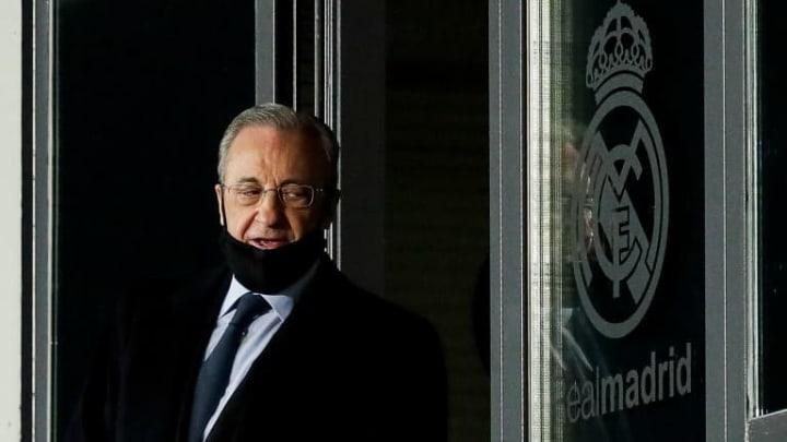 Florentino Pérez annonce un mercato terminé au Real Madrid.