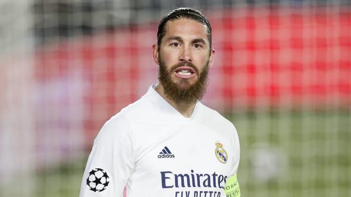 Sergio Ramos segue sem acordo de renovação com o Real Madrid