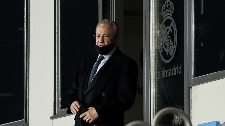 Florentino Perez is at the core of the Super League plans