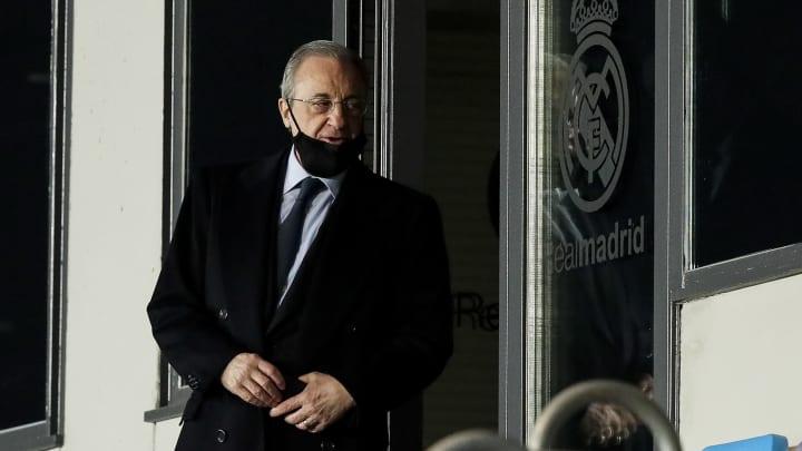 Florentino Pérez hat ausführlich über die Super League gesprochen