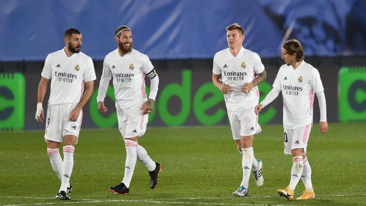 Benzema, Ramos, Kroos & Modric - nur drei der vier Altmeister haben offenbar eine Zukunft bei Real Madrid