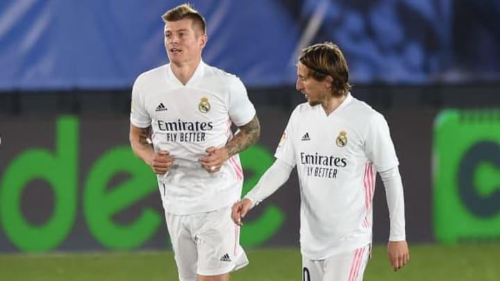 Kroos et Modric ont régné sur le milieu de terrain ce dimanche
