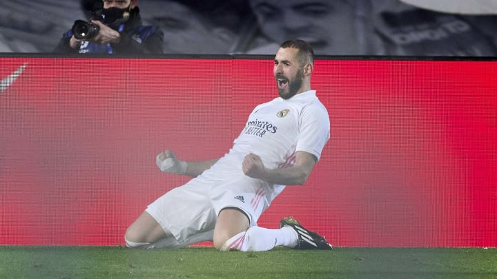 Benzema scored once again on Tuesday night