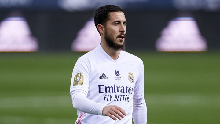 Real Madrid may have been woeful in Athletic Club defeat, but Eden Hazard's performance is reason to smile