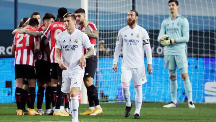 Pas de Classico en finale pour le Real Madrid, éliminé par une solide équipe de Bilbao.