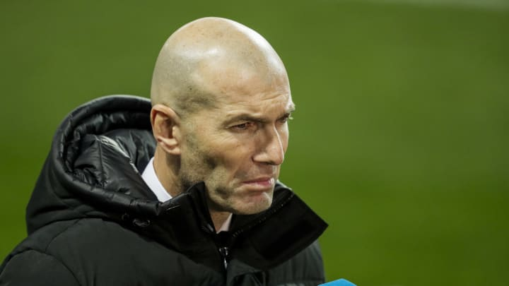 Zinedine Zidane is a man under pressure after Real Madrid's embarrasing Copa del Rey exit midweek