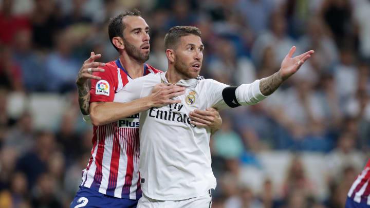 Diego Godin, Sergio Ramos