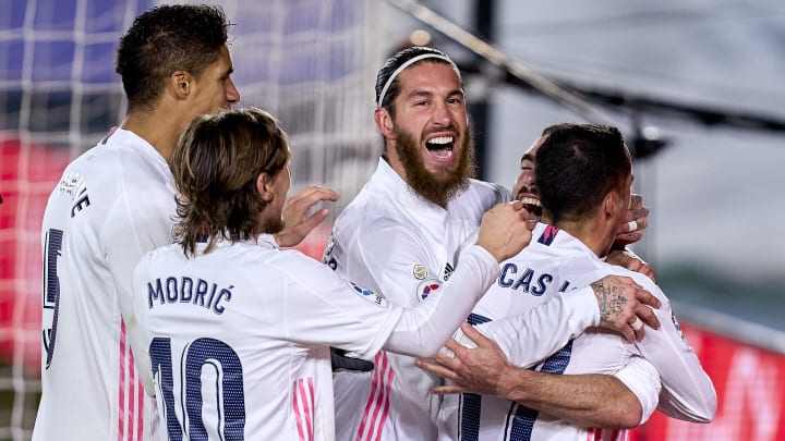 Real Madrid secured the bragging rights by beating Atletico 2-0 in the Madrid derby