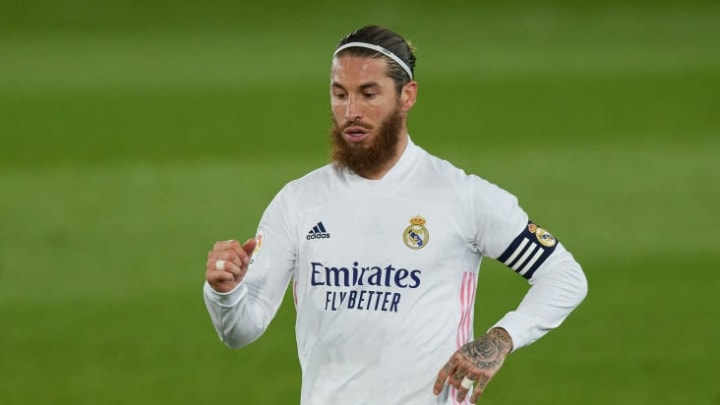 Sergio Ramos in full flow
