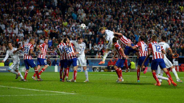 Sergio Ramos marcó el gol de su carrera en la final de 2014