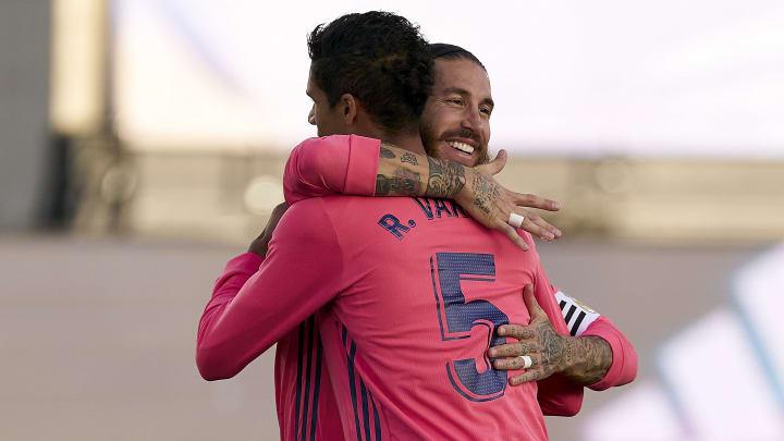 Sergio Ramos e Varane deixaram a equipe | Real Madrid v Cadiz CF - La Liga Santander