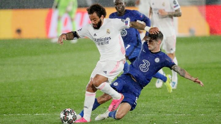 Nach langer Zeit konnte sich Marcelo mal wieder auf der großen Bühne der Champions League präsentieren - im Rückspiel wird er aber wohl fehlen