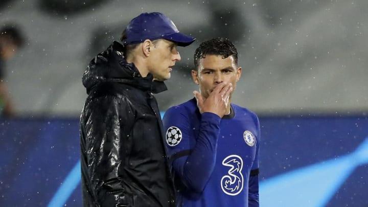 Tuchel e Thiago Silva firmaram novos contratos com o Chelsea