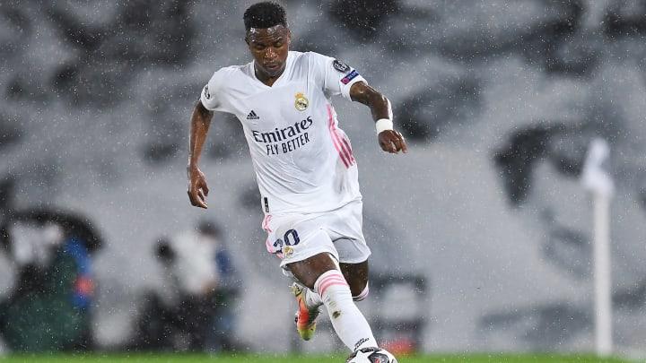Konnte sich bisher noch nicht nachhaltig bei Real durchsetzen: Vinicius Jr