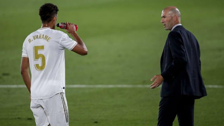 Raphael Varane, Zinedine Zidane