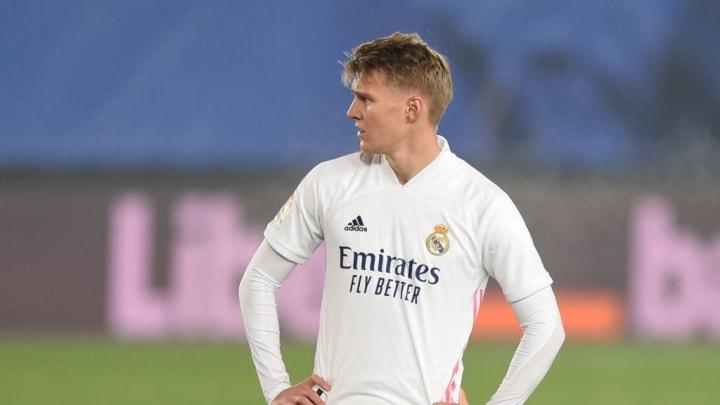 Odegaard perdió protagonismo en el Real Madrid sin razón aparente