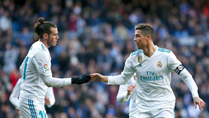 Bale y Cristiano Ronaldo