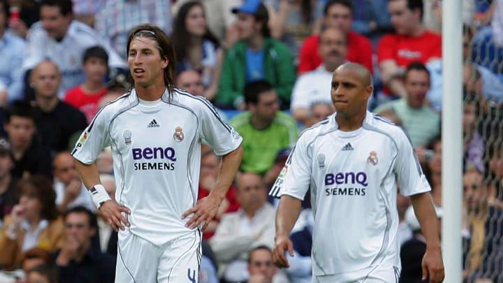 Sergio Ramos, Roberto Carlos, Iker Casillas