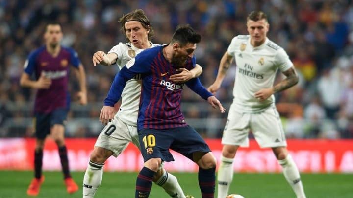 Luka Modric, Lionel Messi