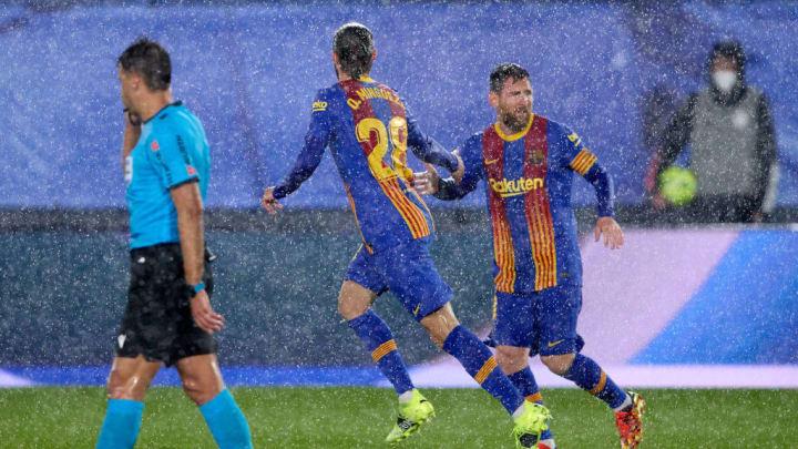 Oscar Mingueza, Lionel Messi