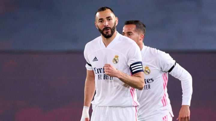 Karim Benzema will almost certainly lead the Real frontline