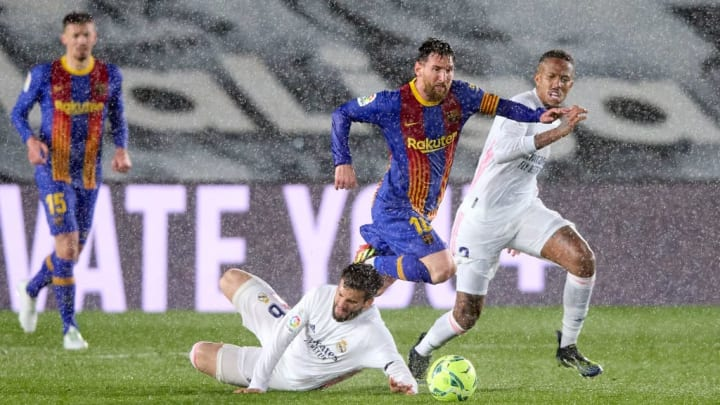 Lionel Messi, Nacho Fernandez, Eder Militao