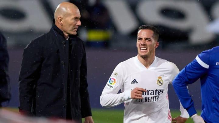 Zinedine Zidane, Lucas Vazquez