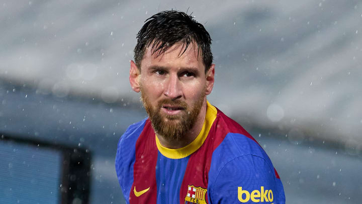 Lionel Messi has yet to receive a contract offer from Barcelona