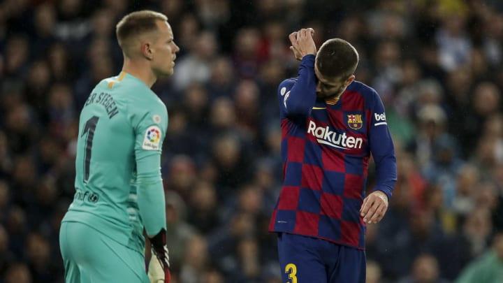 El defensor catalán no se explica el mal momento defensivo del equipo.
