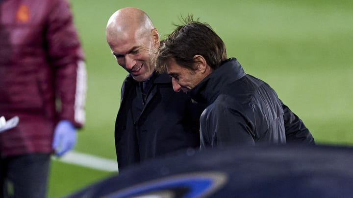 Zidane y Conte