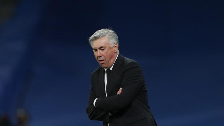 Carlo Ancelotti war nach der Niederlage gegen Sheriff Tiraspol sichtlich enttäuscht.
